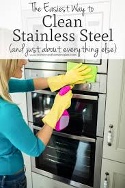 how to clean stainless steel kitchen handles clean with vinegar cleaning stainless steel