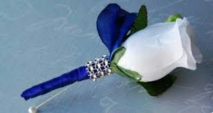 royal blue corsage and boutonniere pin by maelena mojica on prom wedding wedding and