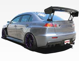 mitsubishi evo spoiler 2008 2013 mitsubishi evo 10 vtx carbon fiber spoiler vis racing