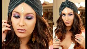 Gypsy Makeup Tutorial Halloween by Halloween Makeup Tutorial Fortune Teller Youtube