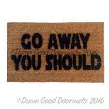 funny doormats chewie we re home doormat damn good doormats