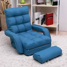 Folding Couch Chair by Amazon Com Merax Folding Lazy Sofa Floor Chair Sofa Lounger Bed