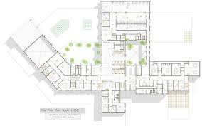general hospital first floor plan oncology hospital pinterest