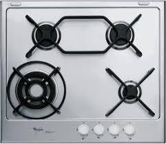 whirpool piani cottura piano cottura whirlpool gas 4 fuochi 60 cm gma 6444 ixl serie