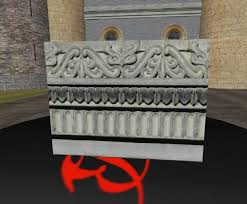 second marketplace ornamental building trim with alpha and