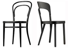 Classic Bistro Chair Austrian Designer Robert Stadler S Update On The Classic Bentwood
