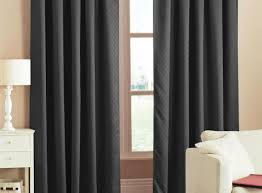 curtains impressive long black sheer curtains ravishing long
