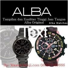 Jam Tangan Alba Yang Asli Dan Palsu jual jam tangan alba original hanya di masterarloji