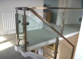 Stair Banister Glass Chinese Supplier Stainless Steel Square Glass Railing Post For
