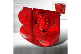 98 dakota tail lights spec d tuning dodge dakota 2005 2010 red led tail lights