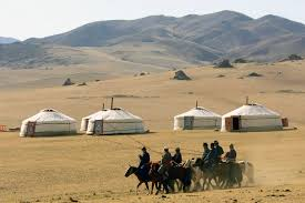 mobile architecture for travelers on the road arch2o com traditional mongolian felt tents or ger which means home in