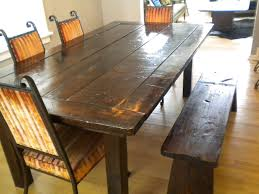 Rustic Tables Dining Room Tables With Benches Provisionsdining Com