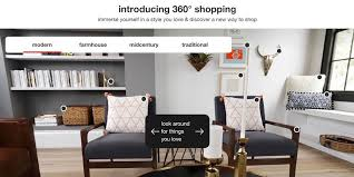 Home Interior Shops Online See Target U0027s New 360 Degree Home Shopping Experience See It Now