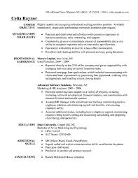 Resume Templates Example by Quick Resume Template