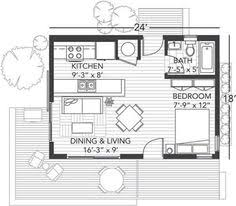 One Room Cottage Floor Plans One Room House Plans 25 X 40 One Room Cabin Plans Free House