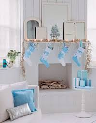 Christmas Table Decorations In Blue And Silver by Decorating A Blue U0026 White Christmas Ideas U0026 Inspiration