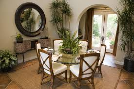 dining room fresh bamboo dining room table decoration ideas