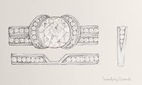 shaped wedding ring to match the tiffany ribbon ring