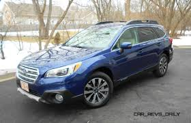 subaru outback 2018 vs 2017 2015 subaru outback review