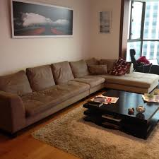 Cheers Sofa Hk Beige 4 Seat L Shape Modular Sofa Secondhand Hk
