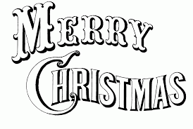 merry christmas coloring pages free coloring