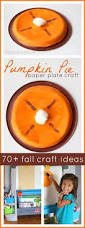 ombre paint chip pumpkin pie craft 72 more fall kids crafts