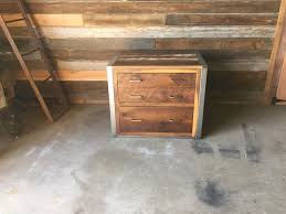 Reclaimed Wood File Cabinet Reclaimed Wood File Cabinet What We Make