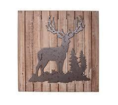 deer wood wall ruff hewn deer wood plank wall decor home kitchen