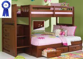 Solid Wood Loft Bed Plans by Best Bunk Beds With Stairs The 10 Top Rated Bunk Beds June 2017
