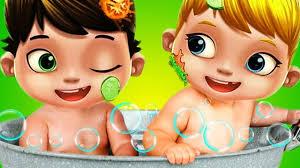 kids play care game baby twins doctor bath time dress up u0026 learn