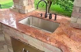 outdoor kitchen sinks ideas the best outdoor kitchen sink for your backyard kitchen