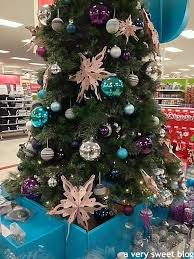 a very sweet blog christmas galore at my target store