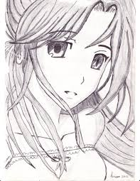 photos easy anime sketches in pencil drawing art gallery