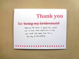 bridesmaid invitations template thank you card 10 design creations wedding thank you cards