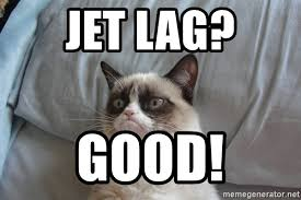 Jet Lag Meme - jet lag good grumpy cat good meme generator
