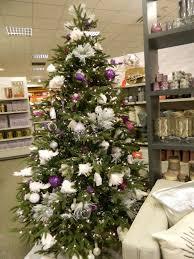 purple and silver christmas tree decorating ideas purple