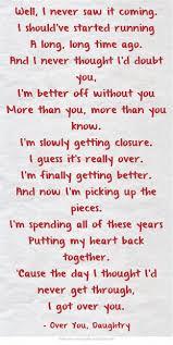 U Got It Bad Lyrics Best 25 Daughtry Songs Ideas On Pinterest Chris Daughtry