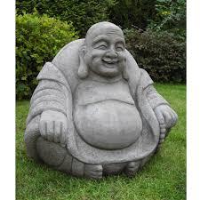 happy buddha statue onefold uk