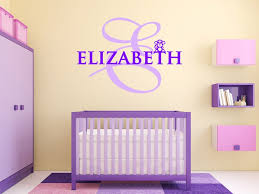 Personalized Nursery Wall Decals Baby Name Wall Decals Unique Customized Name Wall Decals Products