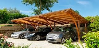 struttura in legno per tettoia tettoia per posto auto in legno professionale tmd60 unopi