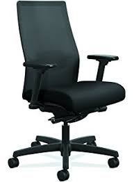 amazon com hon ignition series mid back work chair upholstered