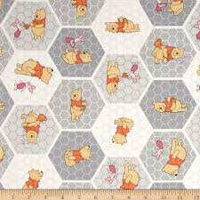 Winnie The Pooh Home Decor by Disney Winnie The Pooh Tea Time Stone Discount Designer Fabric