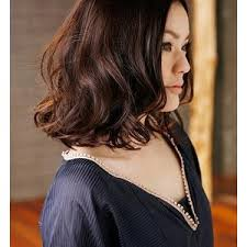 hairstyles with perms for middle length hair digital perm shoulder length hair hairinspiration pinterest