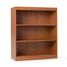 sturdy bookcase for heavy books amazon com remmington heavy duty bookcase oak kitchen dining