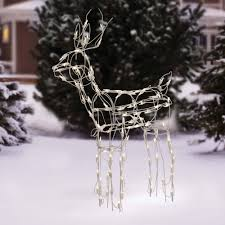 Outdoor Christmas Decorations Animated Deer by Holiday Time 30
