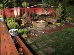 modern family garden backyard fire pit ideas as the best place for family garden ideas