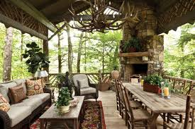 cabin porch 10 cozy cabin chic spaces we re swooning over hgtv s decorating