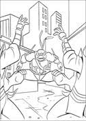 raphael wears jacket coloring free printable coloring pages