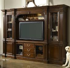 impressive home theater entertainment wall units oak home
