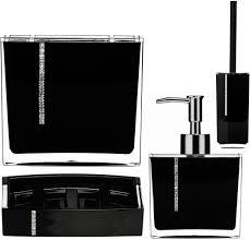 black bathroom accessories uk interior design